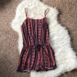 Bohemian romper from cotton on